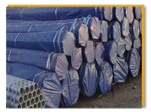 ASTM A312 TP 317L Stainless Steel Seamless Pipe packed at LG Pipes & Tubes Factory