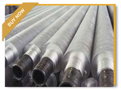 Aluminium Extruded Finned Tube, ASME SA179, 1 Inch