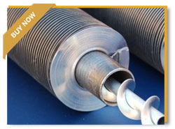 Customized Aluminium Finned Heat Exchanger tubes