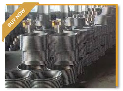 TP316L Stainless Steel Coil Tubing for Heat Exchanger , 1.4401 Stainless Steel Coiled Pipe